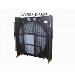 radiator for generator 12V135BZLD-555KW